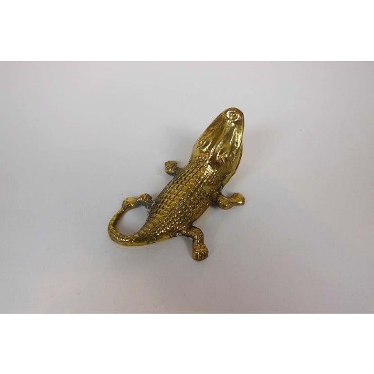 1960s Brass Alligator - Image 6 of 6