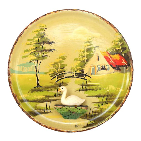 Vintage Holland Souvenir Plate For Sale