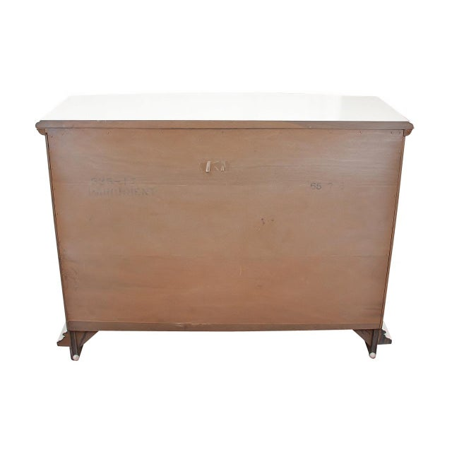 Vintage Hollywood Regency Style Credenza For Sale In Tampa - Image 6 of 8