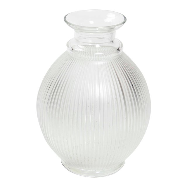 "1990s Vintage Lalique ""Claude"" Vase For Sale"