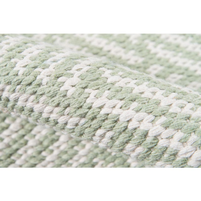 "Madcap Cottage Baileys Beach Beach Club Green Indoor/Outdoor Area Rug 3'6"" X 5'6"" For Sale - Image 4 of 7"