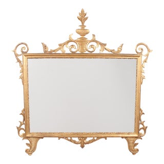 "19th Century Antique Italian ""Caminiera"" or Overmantel Mirror For Sale"