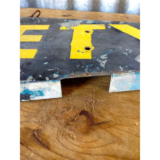 Antique Safety Station Sign - Image 4 of 8