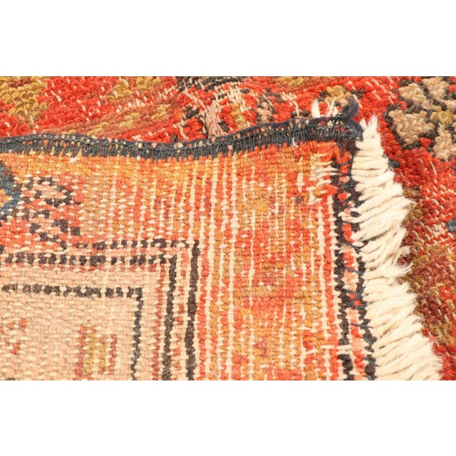 Early 20th Century Antique Hand Knotted Persian Rug-4'4 X 7'7 For Sale In Minneapolis - Image 6 of 8