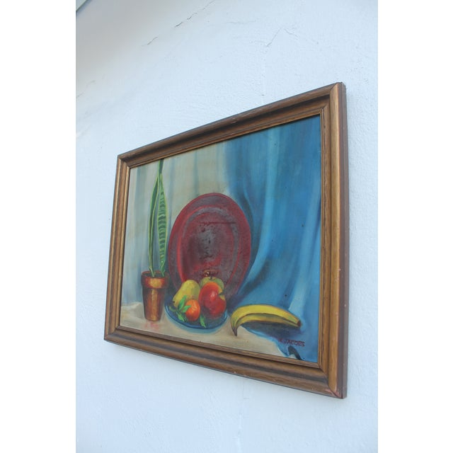 N. Jacobs Still Life Oil Painting For Sale - Image 4 of 11