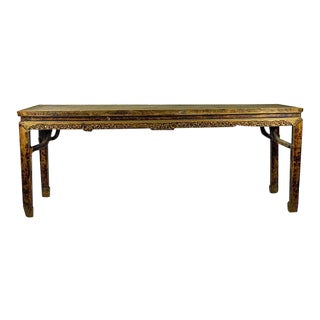 Antique Entryway Console Table