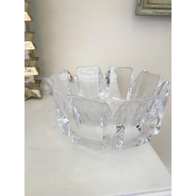 "Orrefors ""Corona"" Crystal Bowls - A Pair - Image 10 of 10"