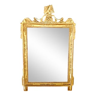 Empire Style Gold Leaf Wood Mirror France Napoleon I France 1810 For Sale