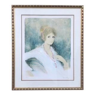 Bernard Charoy Pencil Signed Lithograph For Sale