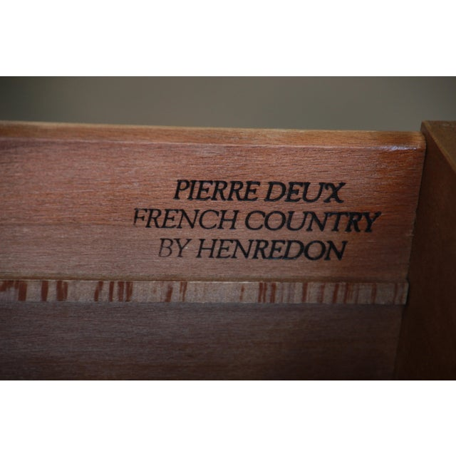 Pierre Deux French Country Double Dresser by Henredon For Sale - Image 10 of 11