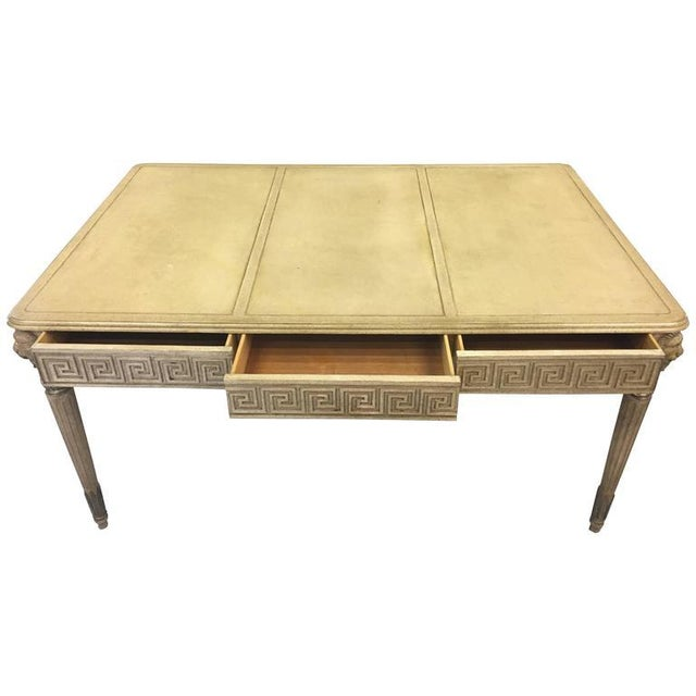 Marge Carson Hollywood Regency Writing Desk - Image 1 of 8