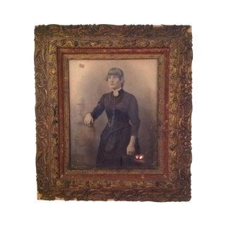 Antique Framed Portrait Photograph