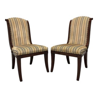 Theodore Alexander Gabrielle French Provincial Side Chairs - A Pair For Sale