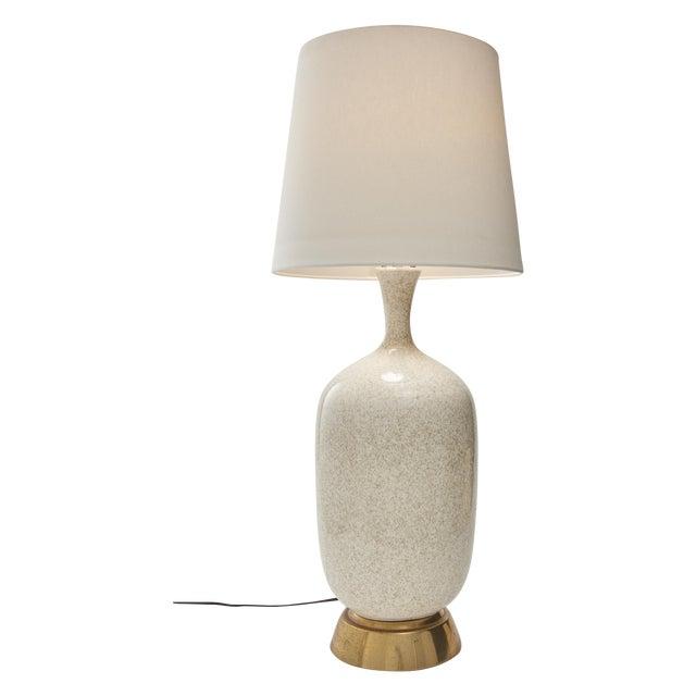 Mid-Century Oversize Ceramic Table Lamp - Image 1 of 5