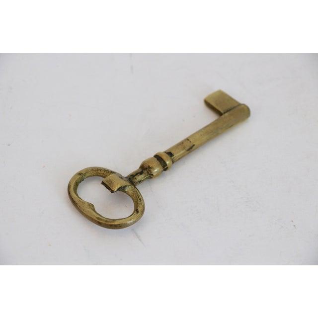 Brass Skeleton Key Bottle Opener For Sale - Image 5 of 5