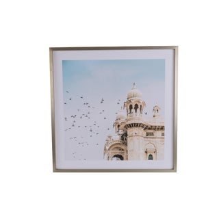Contemporary Framed Indian Palace Photograph For Sale