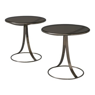 Gardner Leaver Occasional tables for Steelcase - a pair For Sale