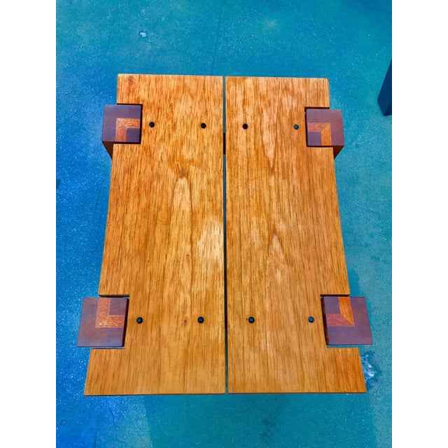 Brown Rob Edley Welborn Designed Prototype Bench or Stool For Sale - Image 8 of 9