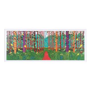 David Hockney- the Arrival of Spring in Woldgate, East Yorkshire For Sale