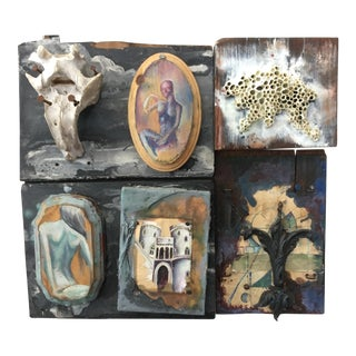 Multimedia Wall Art Piece