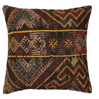 """Mid-Century Rustic Kilim Pillow 