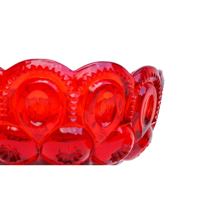L. E. Smith Amberina Lidded Glass Candy Dish For Sale In New York - Image 6 of 8