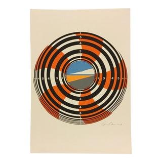 Hans Juergen Kleinhammes 1969 Lithograph For Sale