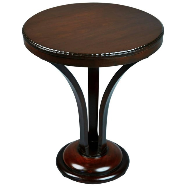 Lacquer 1930s John Graz Imbuia Wood Cocktail / Side Table, Brazil For Sale - Image 7 of 7