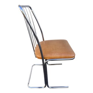 1970's Retro Chrome Chair