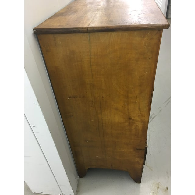 19th Century English Antique Chest of Drawers For Sale - Image 4 of 8
