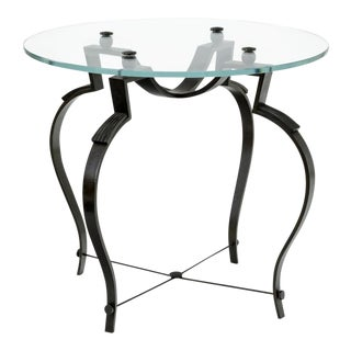 Raymond Subes Refined Wrought Iron Coffee Table(attributed) For Sale