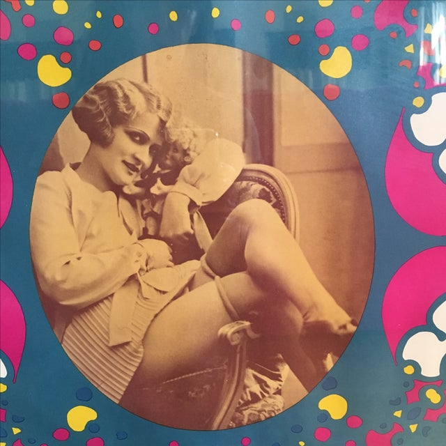"Vintage ""Flapper"" Peter Max Poster - Image 4 of 11"