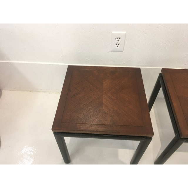 Baker Furniture Company Michael Taylor/ Baker Funiture Side Tables - a Pair For Sale - Image 4 of 10