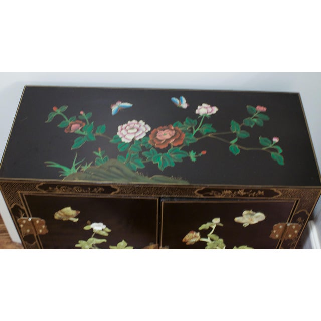 Vintage Hand-Painted Asian Chest - Image 6 of 6