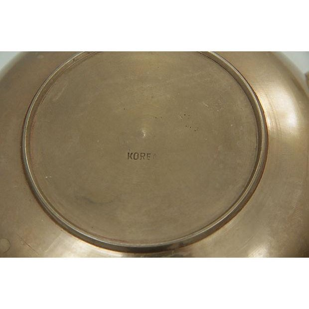 Brass Kettle and Warming Plate - Image 5 of 7