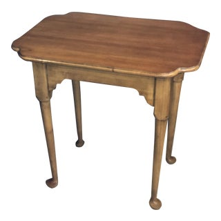 1960s Queen Anne Brandt Furniture Tea Table For Sale