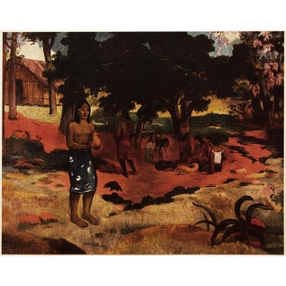 """1950s Paul Gauguin """"Para-Parau (Whispered Words)"""" First Edition Post-Impressionist Lithograph For Sale"""