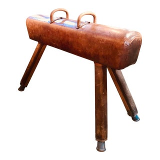 Antique European Pommel Horse For Sale