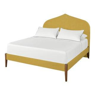 The Crown Bed - King - Charlotte - Italian Blend, Lemongrass For Sale