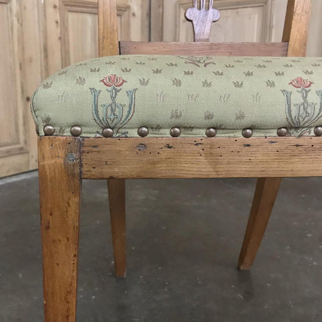 Set of Four 19th Century Swedish Directoire Style Chairs For Sale In Dallas - Image 6 of 13