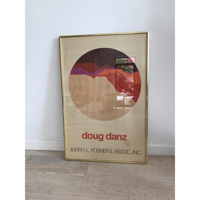 Vintage Doug Danz Framed Poster - Image 5 of 9