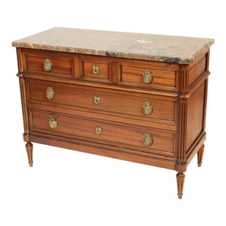 1980s Louis XVI Style Chest of Drawers
