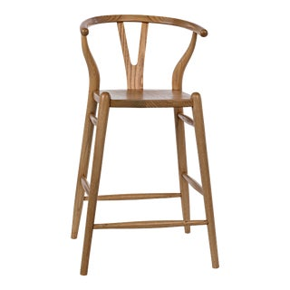 Zola Counter Stool in Natural For Sale