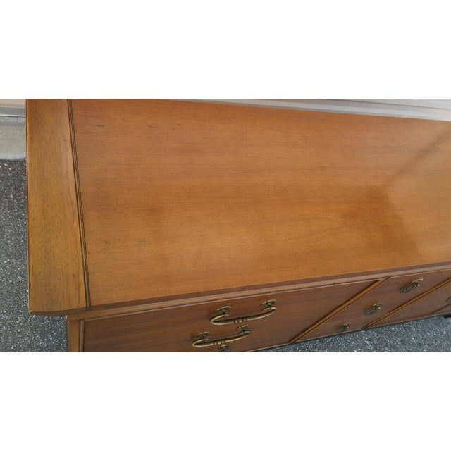 Mid 20th Century Vintage Kent Coffey Amerasia Chinoiserie Dresser Buffet Credenza For Sale - Image 5 of 13