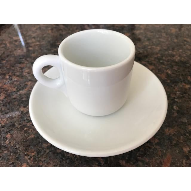 Italian Vintage Richard Ginori Espresso Cups & Saucers - Set of 12 For Sale - Image 3 of 9
