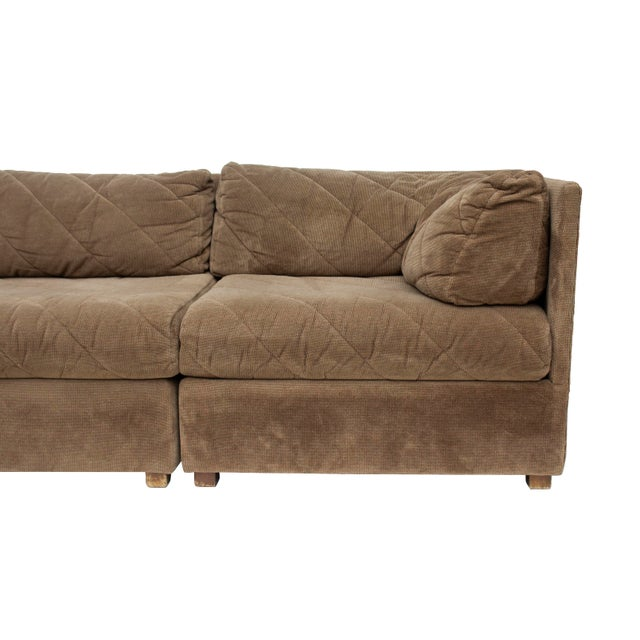 Modular Sectional Sofa by Selig, 5 Pieces For Sale - Image 10 of 13