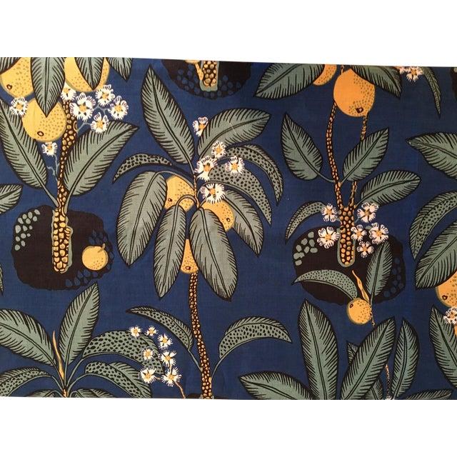 "Brunschwig & Fils Josef Frank ""Notturno"" Handprinted Fabric - 8 Yards For Sale"