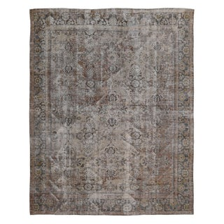 Antique Persian Mahal Rug-10′7″ × 13′6″ For Sale