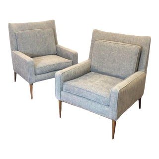 Mid Century Modern Paul McCobb for Directional Model 1312 Lounge Chairs- a Pair For Sale