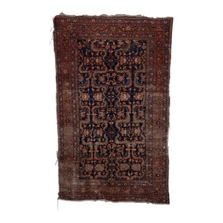Antique Caucasian Rug 4'2'' X 6'5'' For Sale